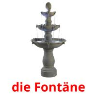 die Fontäne picture flashcards