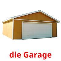 die Garage picture flashcards