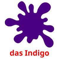 das Indigo picture flashcards