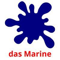 das Marine picture flashcards