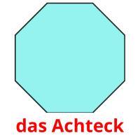das Achteck picture flashcards