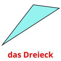 das Dreieck picture flashcards