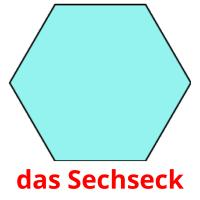 das Sechseck picture flashcards