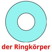 der Ringkörper picture flashcards