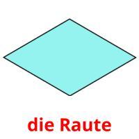 die Raute picture flashcards
