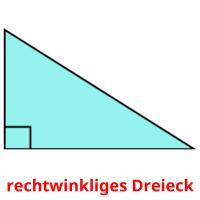 rechtwinkliges Dreieck picture flashcards