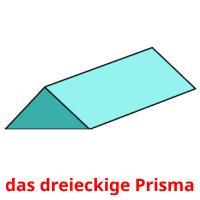 das dreieckige Prisma picture flashcards
