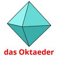 das Oktaeder picture flashcards