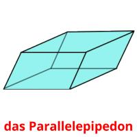 das Parallelepipedon picture flashcards