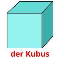 der Kubus picture flashcards