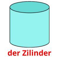 der Zilinder picture flashcards