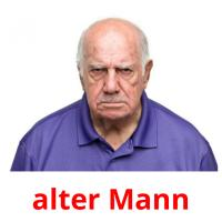 alter Mann picture flashcards