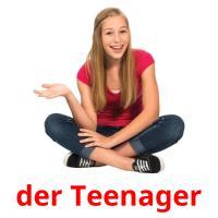 der Teenager picture flashcards