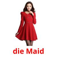 die Maid picture flashcards