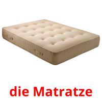 die Matratze picture flashcards