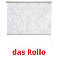 das Rollo picture flashcards