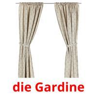 die Gardine picture flashcards