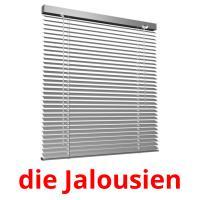 die Jalousien picture flashcards