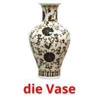 die Vase picture flashcards