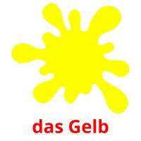 das Gelb picture flashcards