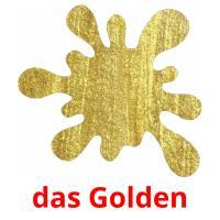das Golden picture flashcards