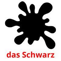 das Schwarz picture flashcards