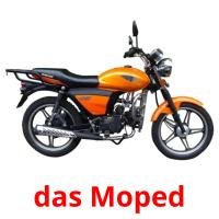 das Moped picture flashcards