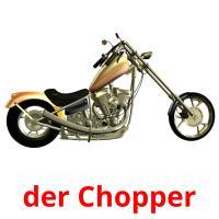 der Chopper picture flashcards