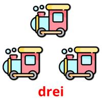 drei picture flashcards