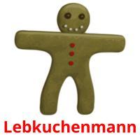 Lebkuchenmann picture flashcards