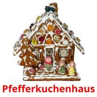 Pfefferkuchenhaus picture flashcards