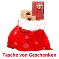 Tasche von Geschenken picture flashcards