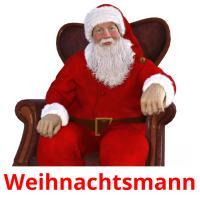 Weihnachtsmann picture flashcards
