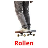 Rollen picture flashcards