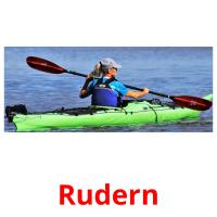 Rudern picture flashcards