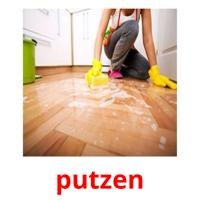 putzen picture flashcards