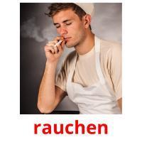 rauchen picture flashcards