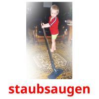 staubsaugen picture flashcards