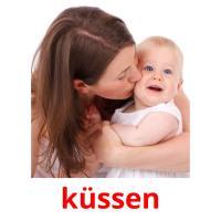 küssen picture flashcards