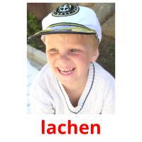 lachen picture flashcards