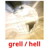 grell / hell picture flashcards