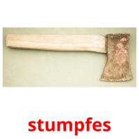 stumpfes picture flashcards
