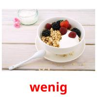 wenig picture flashcards