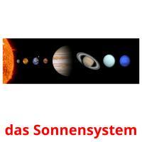 das Sonnensystem picture flashcards