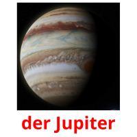 der Jupiter picture flashcards