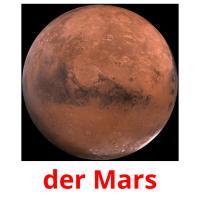 der Mars picture flashcards