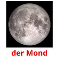 der Mond picture flashcards