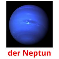 der Neptun picture flashcards