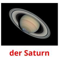 der Saturn picture flashcards