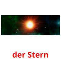 der Stern picture flashcards